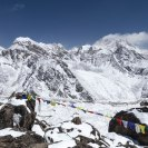 Again, here is the north face of Everest from Gokyo Ri.