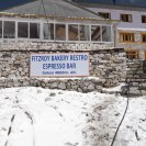 We arerive back at our lodge in Gokyo.