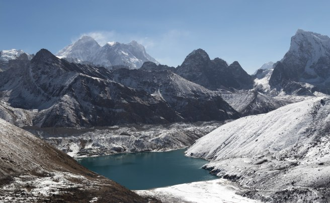 Everest over Gokyo